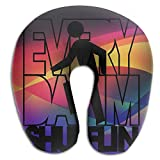Everyday I'm Shuffling Super Comfortable U Type Pillow Neck Pillow Relex Pillow Travel Pillow With Resilient Material