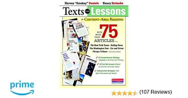 Amazon.com: Texts and Lessons for Content-Area Reading: With More ...