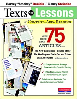 Texts And Lessons For Content-Area Reading: With More Than 75 Articles From The New York Times, Rolling Stone, The Washington Post, Car And Driver, Chicago Tribune, And Many Others Free Download