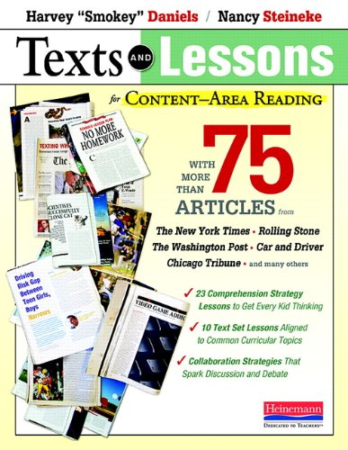 r Content-Area Reading: With More Than 75 Articles from The New York Times, Rolling Stone, The Washington Post, Car and Driver, Chicago Tribune, and Many Others (Reading Lessons)