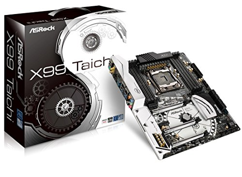 AS Rock X99 Taichi 90 MXB380 A0UAYZ ATX Motherboard - Black/White