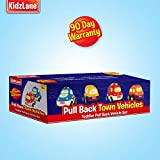 Kidzlane Pull Back Cars for Toddlers | Baby Toy