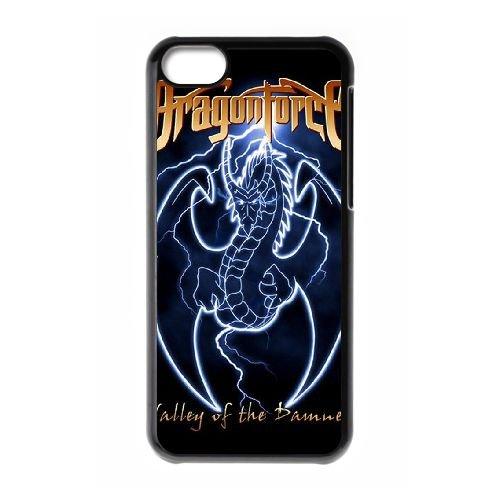 Dragonforce 013 coque iPhone 5C Housse téléphone Noir de couverture de cas coque EOKXLLNCD18960