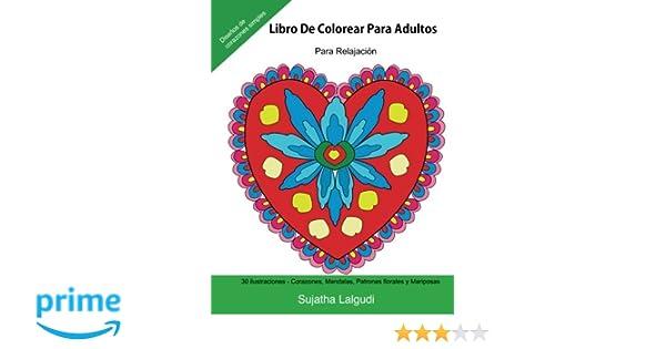 Libro De Colorear Para Adultos: Para Relajacion: Relájate coloreando ...