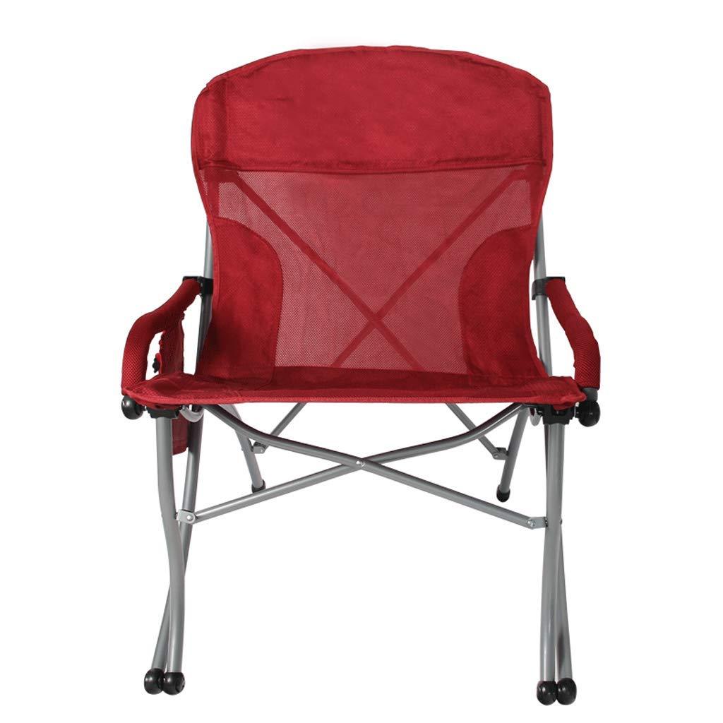 RXF Klappstuhl Outdoor Angeln Strand Mittagspause Büro Camping Portable Bürostuhl (Farbe : 1 )