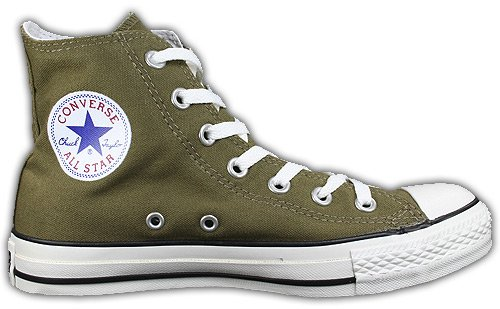 Converse All Star Chucks Bog Green Oliv Grün HI 1Q802 Größe 38 (UK ...