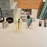 2 Pack Acrylic Pen Holder, Pencil holder for