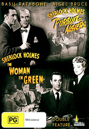 Sherlock Holmes: Pursuit to Algiers / Sherlock Holmes: The Women in Green [Region 4]