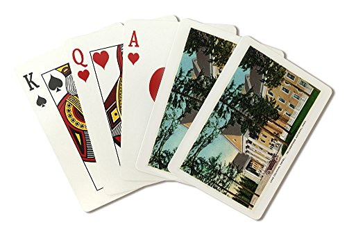 Yellowstone National Park, Wyoming - Lake Colonial Hotel (Playing Card Deck - 52 Card Poker Size with Jokers)