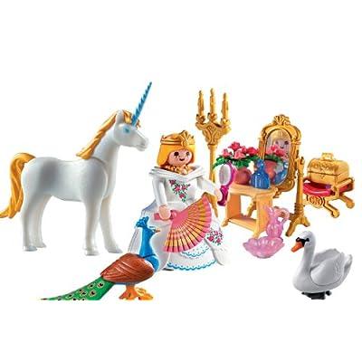 PLAYMOBIL Princess Carrying Case Playset: Toys & Games