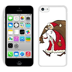 MMZ DIY PHONE CASEPersonalized iphone 6 plus 5.5 inch TPU Case Santa Claus White iphone 6 plus 5.5 inch Case 21