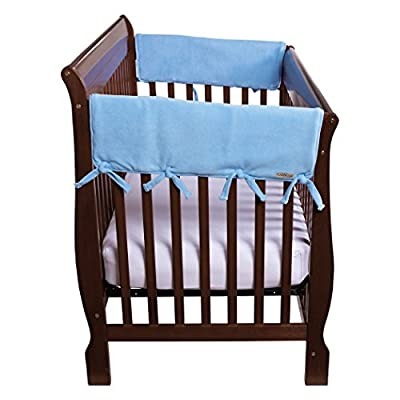 "Trend Lab Waterproof CribWrap Rail Cover - For Wide Side Crib Rails Made to Fit Rails up to 18"" Around, 2PK"