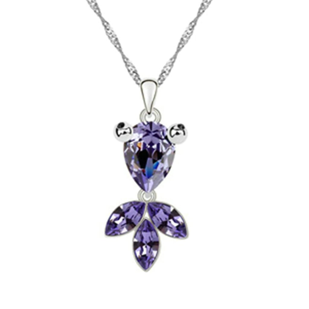 AMDXD Jewelry Alloy Pendant Necklaces for Women Cross 3.2X1.7CM