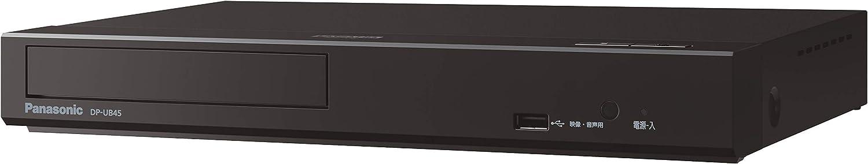 パナソニック ブルーレイプレーヤー DP-UB45-K [HDR10+ /DolbyVision /Ultra HDブルーレイ再生対応
