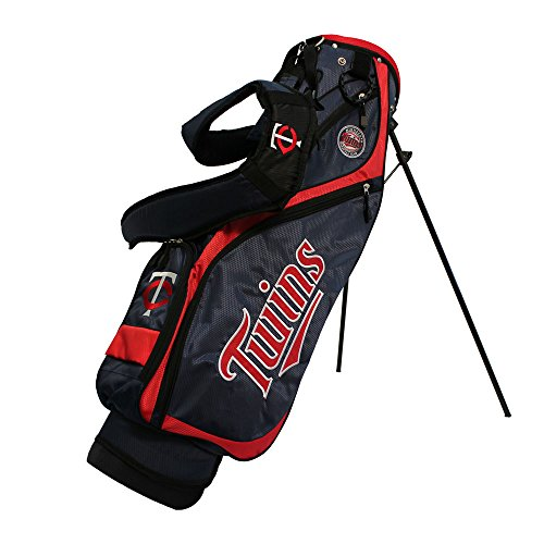 Team Golf 96627 Minnesota Twins MLB Nassau Golf Stand Bag by Team Golf