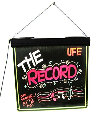 Flashing Neon Dry Erase Board Led Lighted Open Neon Sign