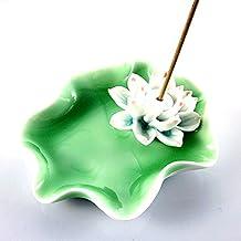 XDOBO Lotus Flower Ceramics Incense Burner Holder Gifts & Decor
