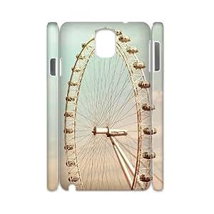YAYADE Phone Case Of uk illustration For Samsung Galaxy Note 3 N9000
