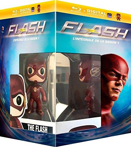 The Flash (Complete Season 1) - 4-Disc Box Set & Flash FUNKO Figurine ( The Flash - Season One (23 Episodes) ) (+ UV Copy) [ Blu-Ray, Reg.A/B/C Import - France ] (The Flash Season 1 Episode 1 compare prices)