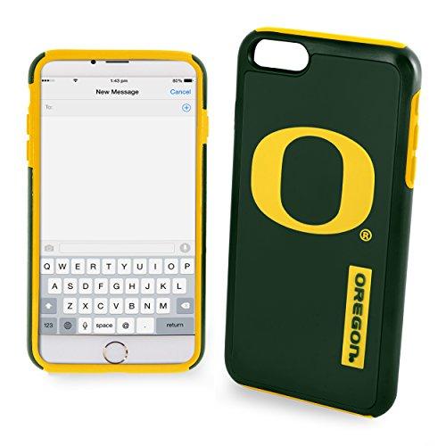 NCAA Oregon Ducks Impact TPU 2-Piece Dual Hybrid iPhone 7 / 6 / 6s PLUS Cover - 5.5