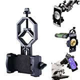 SUPRBIRD Universal Cell Phone Adapter Mount Smartphone Adapter for Binoculars, Spotting Scopes, Telescopes, Microscopes, Monoculars with Eyepiece Diameter 28mm-47mm and iPhone Samsung Note