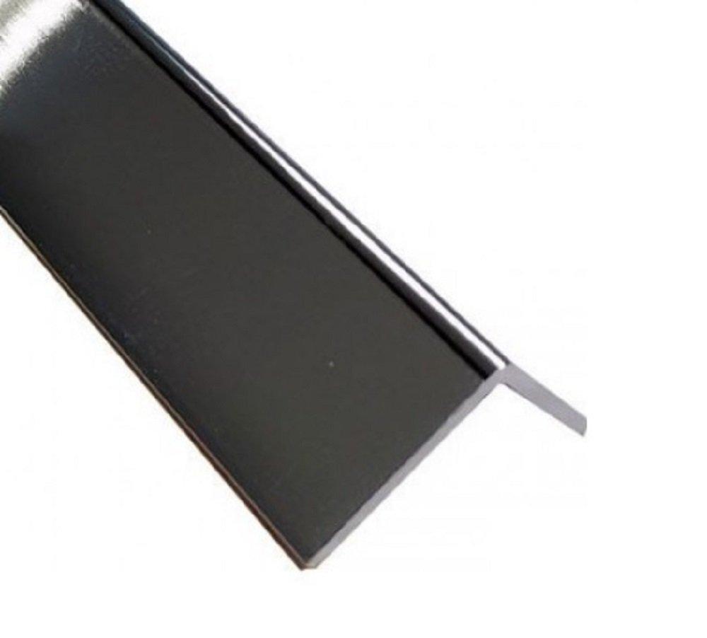 Chrome / Silver External Corner - Decorative Cladding 20mm x 20mm Trim - 1.25m x 1 pack Eurocell