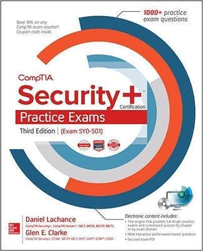 Comptia security certification practice exams third edition exam comptia security certification practice exams third edition exam sy0 501 3rd edition fandeluxe Images