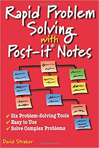 amazon rapid problem solving with post it notes david straker