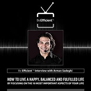 Be Efficient: TV Interview with Arman Sadeghi Radio/TV Program