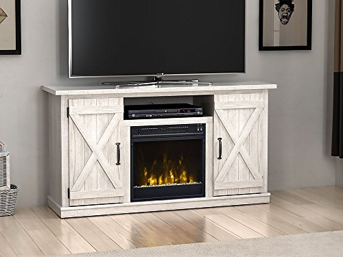 Comfort Smart Killian Electric Fireplace TV Stand, Sargent Oak