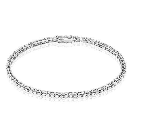 nuovo stile 6b5c2 31edc Stroili - Tennis in oro bianco 18 kt e diamanti 1,80 ct per ...