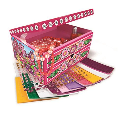 Orb Factory Sticky Mosaics Fairy Jewellery Box New 2014 by Sticky Mosaics B01L36AF72