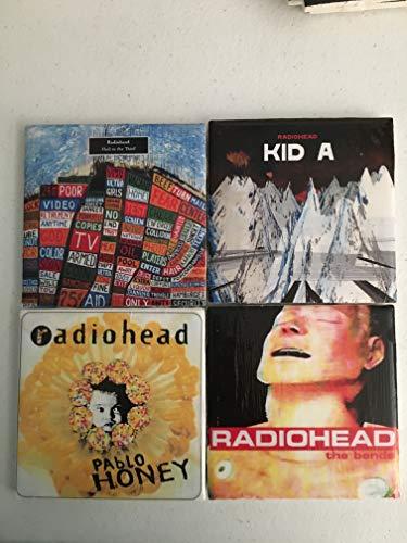 (Radiohead Album Artwork Coasters)