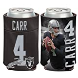 NFL Oakland Raiders Can Cooler 12 oz. Derek Carr Limited Can Koozie