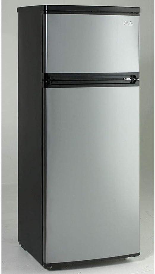 Amazon.com: Refrigerador para departamento con 2 puertas ...