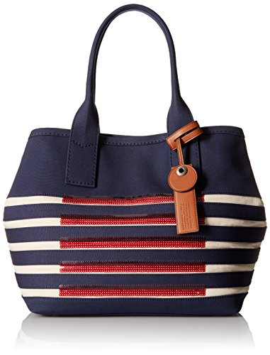 Marc by Marc Jacobs ST Tropez Beach Tote Bag, New Prussian Blue/Ecru, One Size