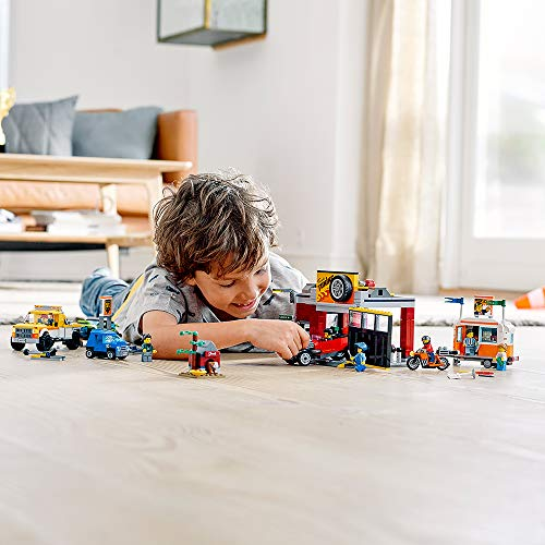 LEGO City Tuning Workshop Toy Car Garage 60258, Cool Building Set for Kids, New 2020 (897 Pieces)