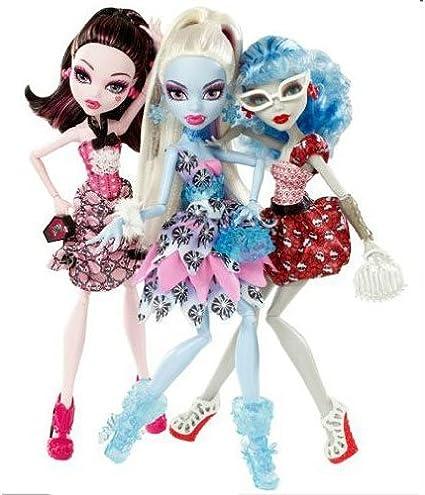 Amazon.es: Monster High pack 3 muñecas: Juguetes y juegos