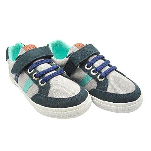Gioseppo Wilson - Zapatilla deportiva de lona para niño, color blanco. Gris