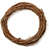 Bulk Buy: Darice DIY Crafts Grapevine Wreath Natural 12 inches (12-Pack) GPV12