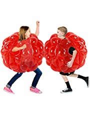 SUNSHINEMALL 1 PC Bumper Ball, Inflatable Body Bubble Ball Sumo Bumper Bopper Toys, Heavy Duty Durable PVC Vinyl Kids Adults Physical Outdoor Active Play .