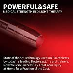 DGYAO® 660nm LED Red Light Therapy Devices?Natural Pain Relief for Joint & Muscle - Improving Skin Texture?Facilitating Healing and Treatment of Injuries