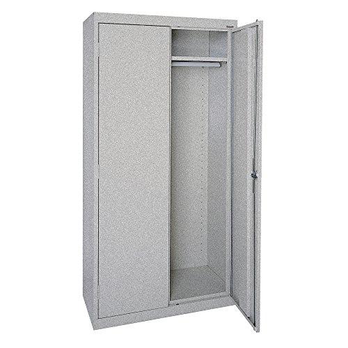 Sandusky Lee EAWR362472-MG Elite Series Wardrobe Storage Cabinet, 36