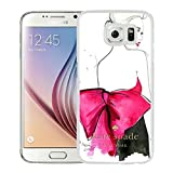 Luxurious And Nice Custom Designed Kate Spade Cover Case For Samsung Galaxy S6 White Phone Case 204