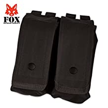 Fox Outdoor Products AR-15/AK-47 Dual Mag Pouch Black