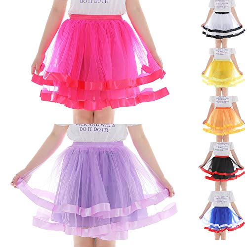 Lace Skirt Stratificati Oyedens Gonna Rosa Adult Caldo Mini Danza Pleated Gauze Organza Donne Short Tutu Dancing qBxgwPXR