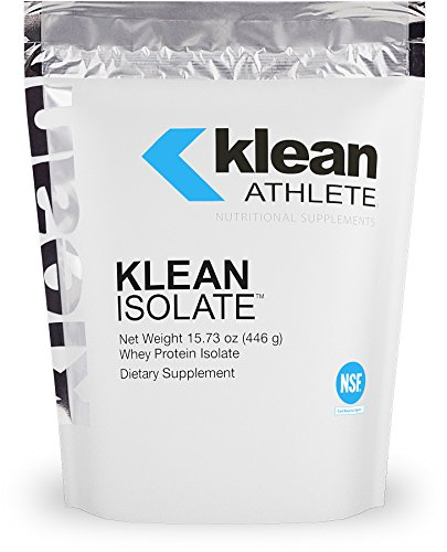 Klean Athlete - Klean Isolate - Whey Protein Isolate to Enhance Daily Protein and Amino Acid Intake for Muscle Integrity - NSF Certified for Sport - Unflavored - 15.73 oz (446 g)