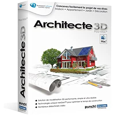 Avanquest Architecte 3D 2011 - Software de diseño automatizado (CAD) (ENG, 256 MB, Intel Core Solo, Mac, 1 usuario(s))