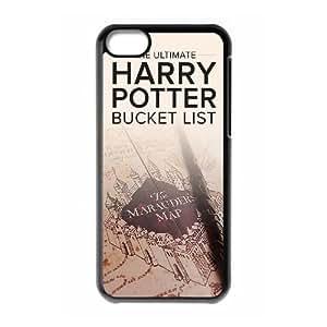 WEUKK Harry Potter iPhone 5C phone case, diy phone case for iPhone 5C Harry Potter, diy Harry Potter cover case