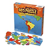 GeoPuzzle Latin America - Educational Geography Jigsaw Puzzle (50 pcs)